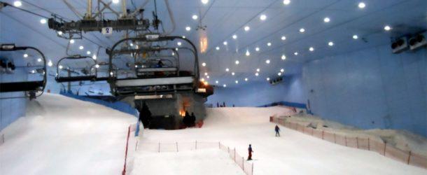 # 136: Skiing in the snow in Dubai under 40 ° C