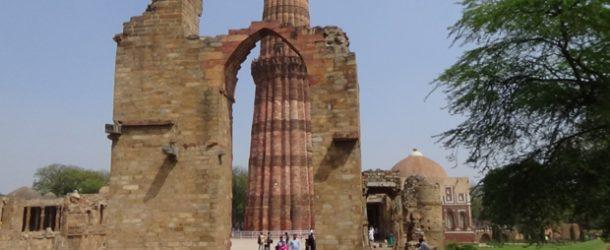 #395 : Visiter Qutb Minar la plus haute tour d'Inde