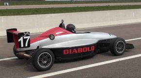 # 23: Driving a Formula Renault on professional circuit