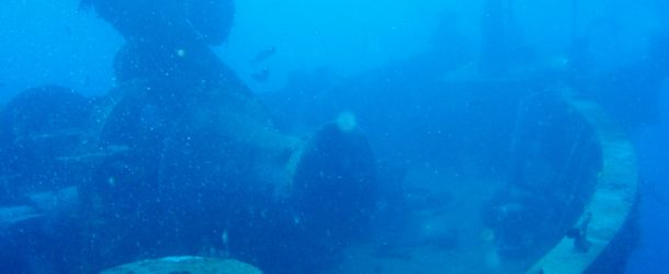 # 34: Diving on the Gustavia's wreck of  (Gwada)