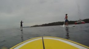 # 7: Sliding on the Water on Stand Up Paddle