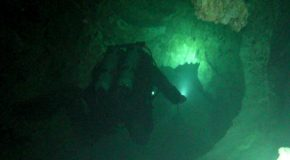 # 68: Cave Diving at -35 meters