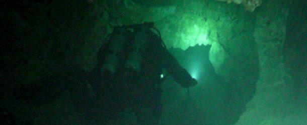 # 68: Cave Diving at -35 meters