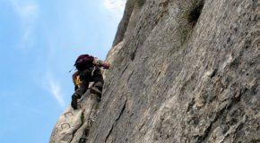 # 42: Climbing a cliff in Via Corda