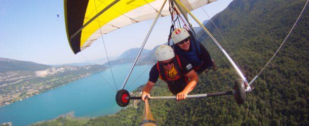 #101 : Voler en deltaplane au dessus du Lac d'Annecy
