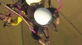 #108 : Voler accroché à un ventilo géant