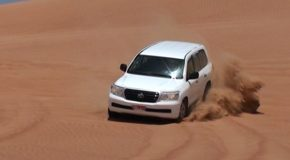 # 184: Driving a 4×4 in the desert dunes