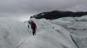 # 220: Climbing on the largest icecap after the poles