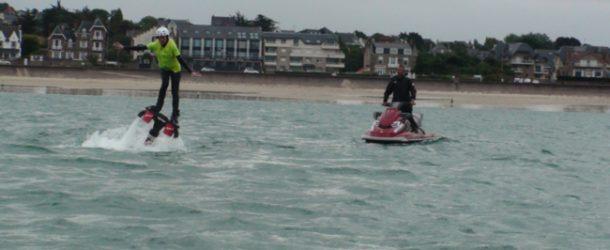 #225 : Walking on water … in Flyboard