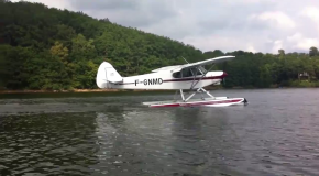 # 289: Taking off from the water in a Seaplane
