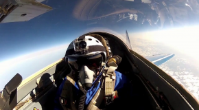 # 287: Flying in the Mig 29 to the stratosphere