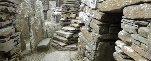 #329 : Visiting the most beautiful Broch of Scotland