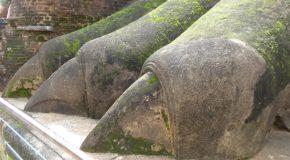 #368 : Gravir l'escalier au Lion des demoiselles de Sigiriya