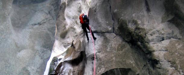 # 58:Climbing down the Gorges de la Richiusa