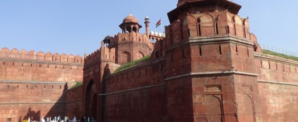 #396 : Visiting the moghol Red Fort in Delhi