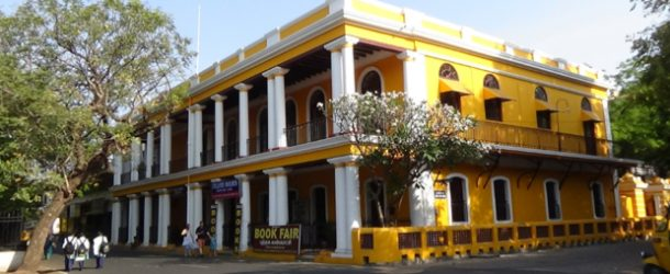 #400 : Visiting the old city of Pondicherry