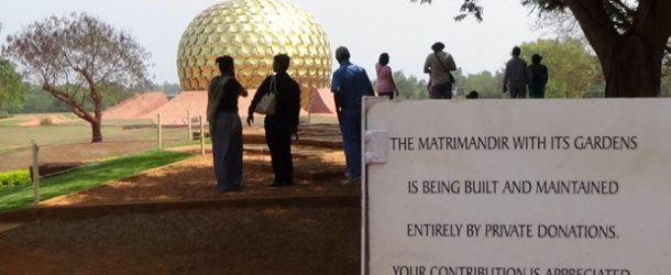 #415 : Visiting the Aurobindo's Ashram