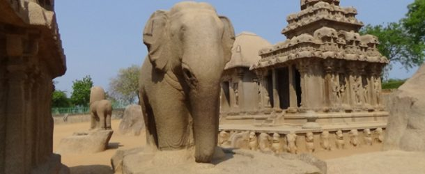 #389 : Discovering the antique city of Mahabalipuram