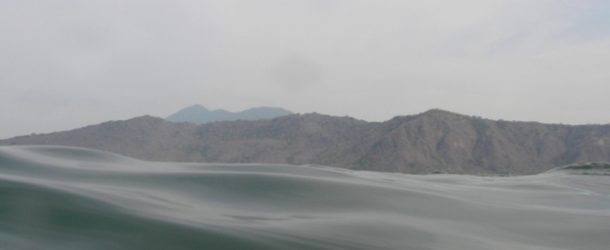 #422 : Bathing in the Laguna de Apoyo