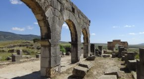 #426 : Exploring the antique city of Volubilis