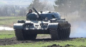 #455 : Conduire un T-55 de l'armée Russe