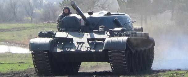 #455 : Driving a russian T-55 tank