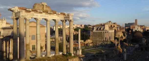 #50 : Visiting the antic remains of Roma Antica City