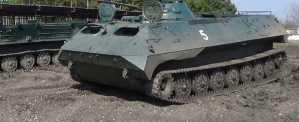 #456 : Driving a russian army MTLB-U vehicule