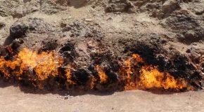 #486 : Observer la colline de feu éternel du Yanar dag