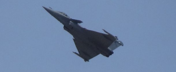#518 – Looking at a demo flight of French Rafale