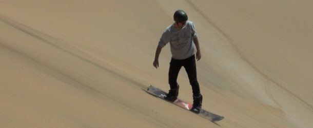 #539 : Tester le SandBoard sur les dunes namibiennes