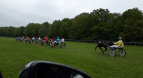 #588 : Making a harness race on the racecourse of Rambouillet
