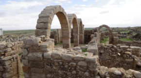 #557 : Getting lost in the ruins of the Byzantine city of Umm er Rasas or Kastrom Mefa'