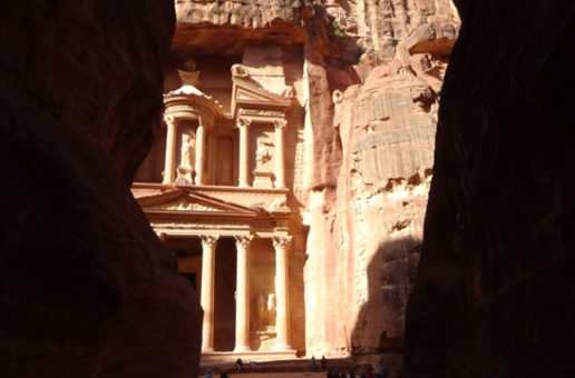 #580 : Following Indiana Jones's step in the antique Petra
