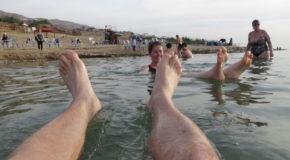 #561 : Se laisser flotter dans la Mer Morte