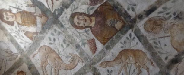 #569 : Voir les fresques du palais Omeyyades de Qasr Amra dans le désert