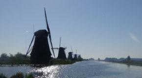 #591 : S'émerveiller devant les moulins hydrauliques de Kinderdijk