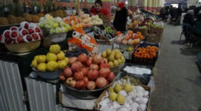 #613 : Visiting the largest Central Asian market in Khodjent