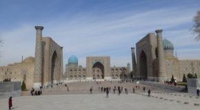 #626 : Visiting Samarkand, capital of the Timurid Empire