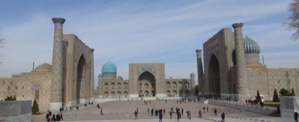 #626 : Admirer la place Registan à Samarcande
