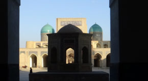 #630 : Visiting the city of Bukhara, capital of the chaybanid dynasty