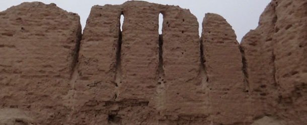 #638 : Visiting the citadel and the Ayaz Qala earthen castle