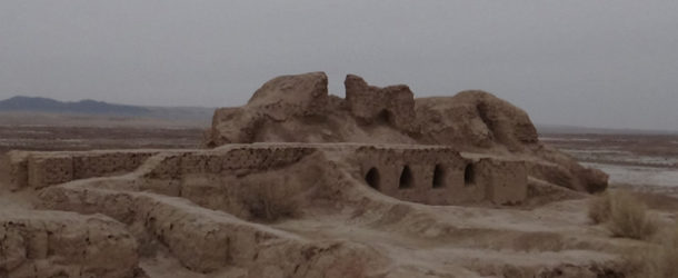 #637 : Visiting the ancient citadel of Toprak Qala in Ouzbekistan