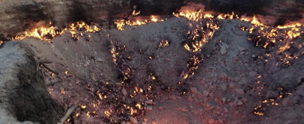 #621 : S'approcher de la Bouche de l'Enfer à Darwaza