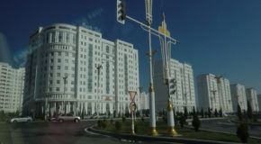 #622 : Visiting the white marble city of Ashgabat