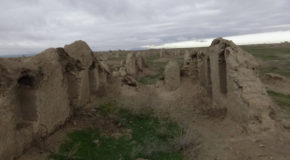 #603 : Exploring the remains of the city Parthe Abiverd in Turkmenistan