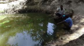 #650 : Taking a shower at the sacred El Hadji Omar spring in Senegal