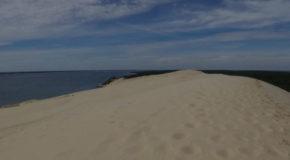 #681 : Climbing the dune of Pilat in Arcachon bay