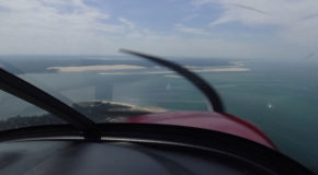 #682 : Flying over the Pilat dune at low altitude
