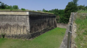 #695 : Visiting the remains of the fortifications of Luxembourg